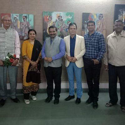 Visit of Mr. K.G. Suresh to NACC